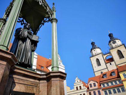 Denkmal Martin Luther in Wittenberg